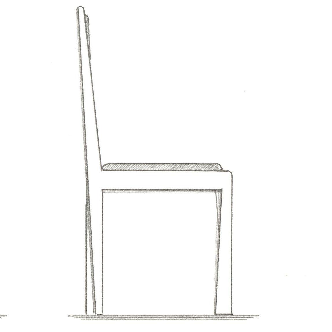 Zeichnung von Stuhl